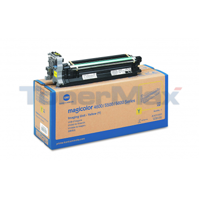 KONICA MINOLTA MC 5550 120V IMAGING UNIT YELLOW